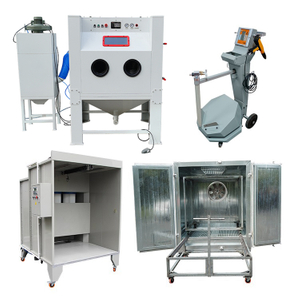 Sandblasting and Powder Coating Machine Package
