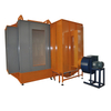 Conveyor Powder Coating Booth System, Manual Spray Booth