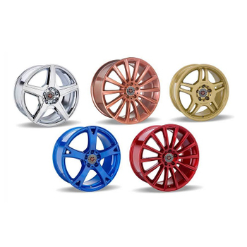 How to refurbish and powder coat wheels?