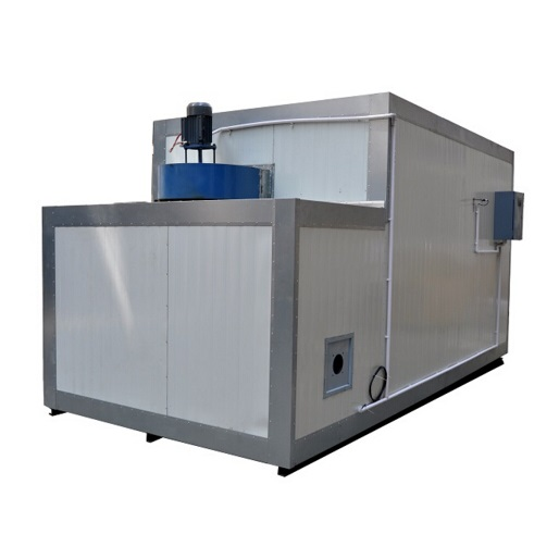 gas powder coating oven