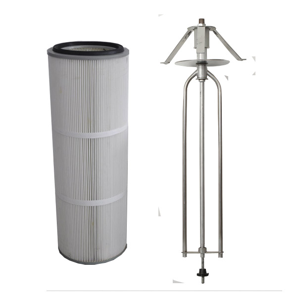 Powder Coating Cartridge Filters - Roatry Wing Type