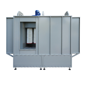 Pass Through Powder Coating Spray Booth