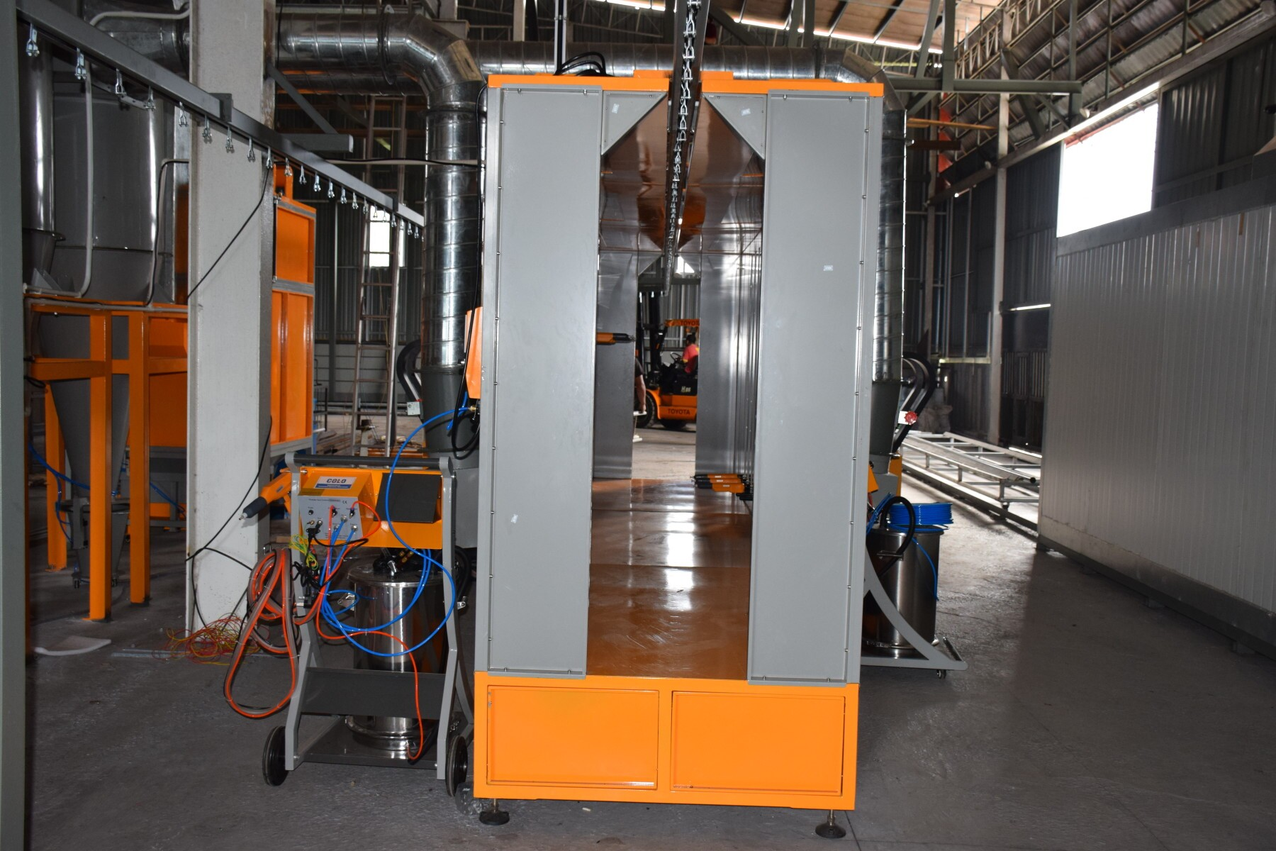 powder coating plant in Malaysia 10