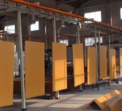 Metal Door Powder Coating Line
