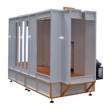 Automatic Powder Coating Booth for LPG Cylinder